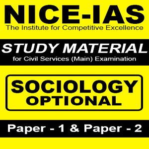 NICE IAS [Praveen Kishore]- Sociology Optional - Printed Study Material