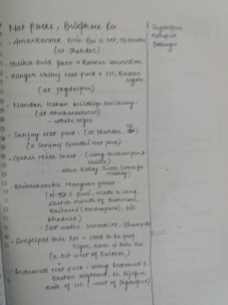 Vajiram Geography Optional (Human Geography & Population settlement)  Handwritten Class Notes