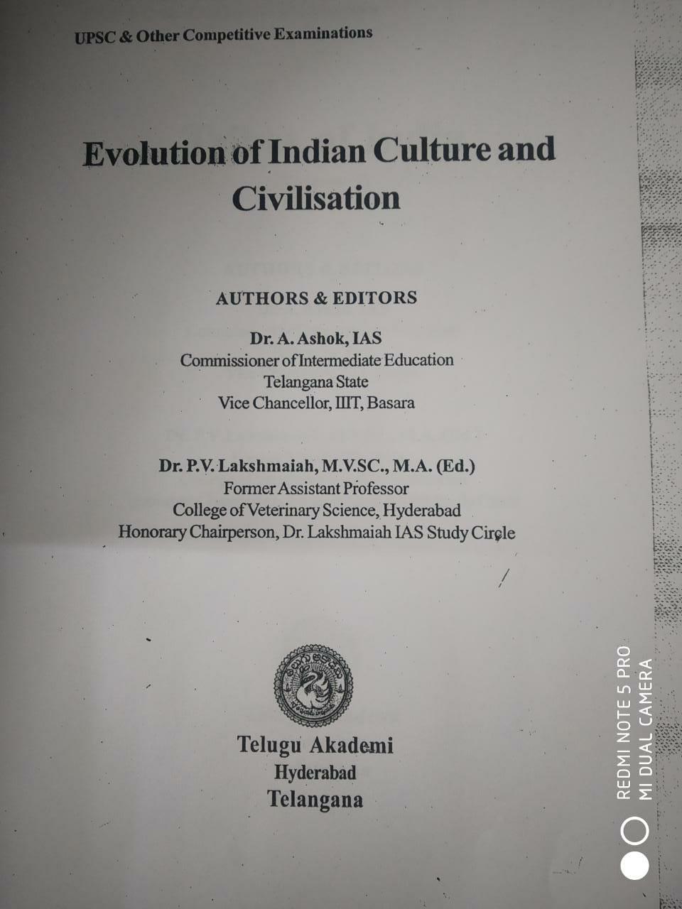 TELUGU ACADEMY – Anthropology Study Material (Latest)